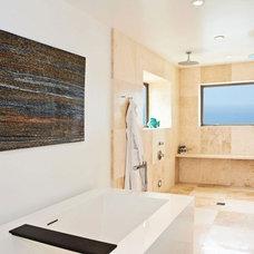 Contemporary Bathroom by Sorensen Architects & Interiors