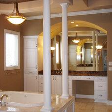 Traditional Bathroom by Heartwood Custom Homes Inc.