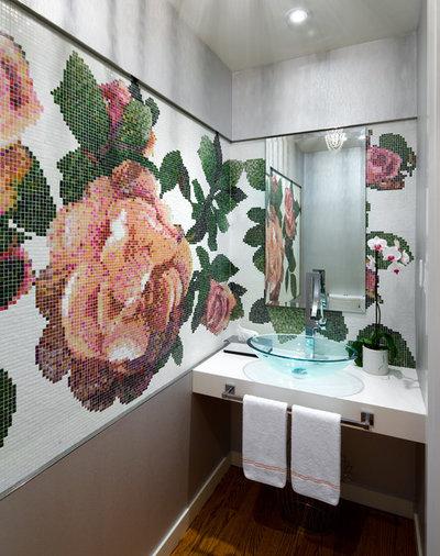 コンテンポラリー 浴室 by Brandon Barré Architectural Interior Photographer