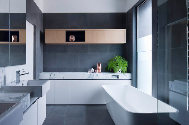 Contemporary Bathroom by Matt Gibson Architecture + Design