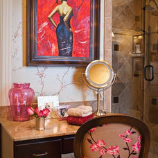 Eclectic Bathroom by Eric Ross Interiors, LLC