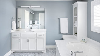 Bright and Modern Master Bathroom