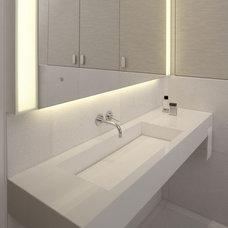 Contemporary Bathroom by Exit - Interior design