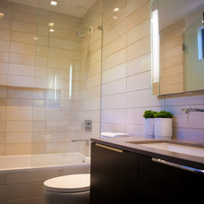 Contemporary Bathroom by Kym Rodger Design