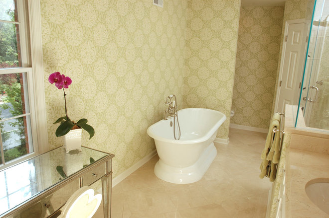 Traditional Bathroom by Neal's Design Remodel