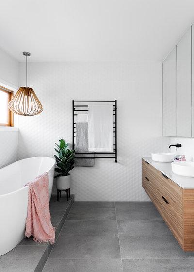 Contemporain Salle de Bain by GIA Bathrooms & Kitchens