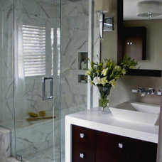 Modern Bathroom by Millennium Cabinetry