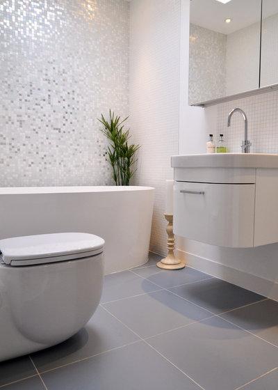 Contemporáneo Cuarto de baño by Kia Designs