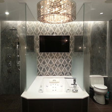 Contemporary Bathroom by Artistic Tile