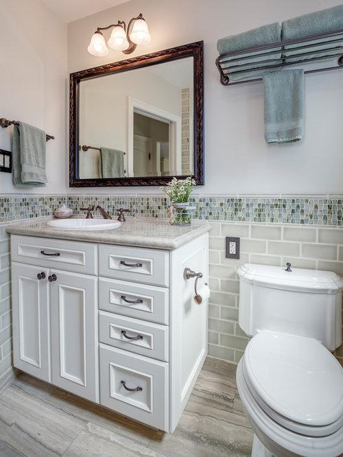 duschb der mit schrankfronten mit vertiefter f llung ideen beispiele f r die badgestaltung houzz. Black Bedroom Furniture Sets. Home Design Ideas