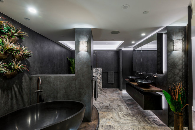 Contemporary Bathroom by Kim Duffin for Sublime Architectural Interiors