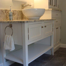 Traditional Bathroom by Dovetail Design