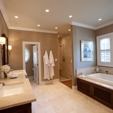 Traditional Bathroom by Loftus Design, LLC