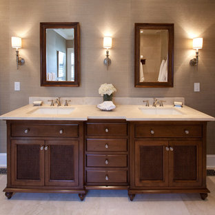Exceptionnel British Colonial Style Bathroom | Houzz