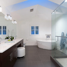 Contemporary Bathroom by Karnak Pro Builders