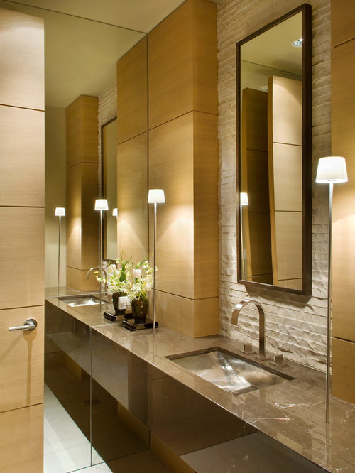 Elegant Modern Bathroom Design elegant modern bathroom | houzz