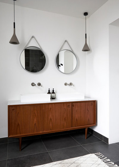 Scandinavian Bathroom by Indie & Co.