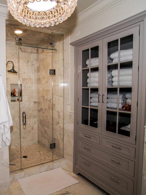 Bathroom Linen Closet Houzz