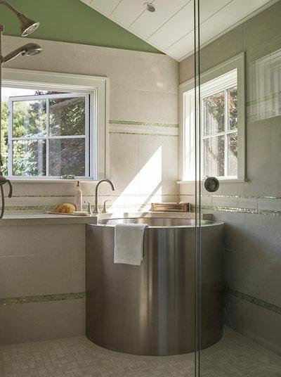 Transitional Bathroom by Knickerbocker Group