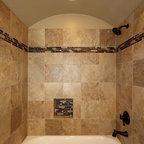 Shower And Tub Master Bathroom Remodel Traditional