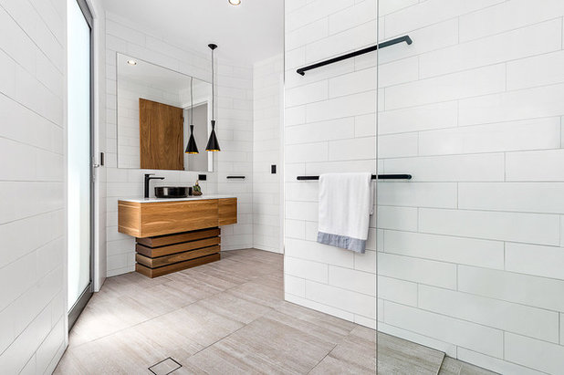 Contemporary Bathroom by Groove Tiles & Stone