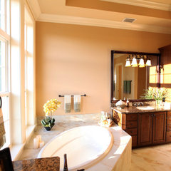 mediterranean bathroom by Clausen Residential