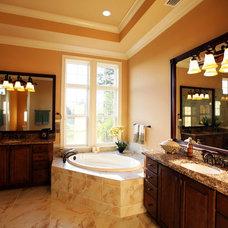 Mediterranean Bathroom by Clausen Residential