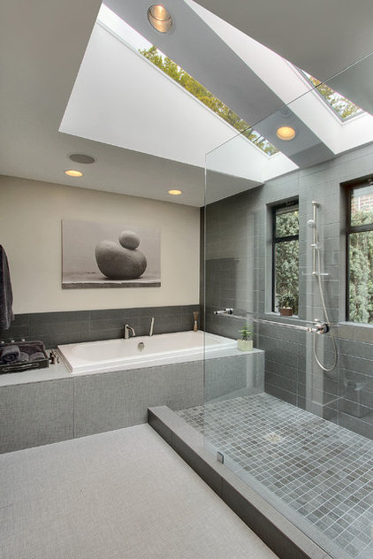 Contemporary Bathroom by Dyna Contracting