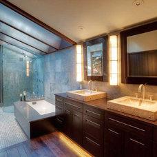 Modern Bathroom by Tremmel Design Group