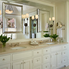Traditional Bathroom by Stuart Silk Architects | Limited PS
