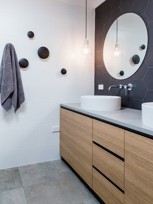 Bathroom Vanities Queanbeyan muuto dot bathroom ideas, designs & remodel photos | houzz