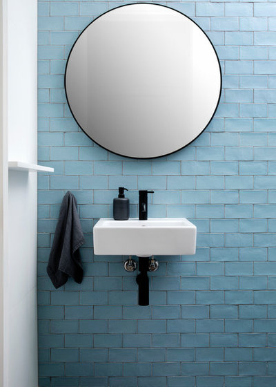 Coastal Bathroom by TO THE MIL excellence in construction
