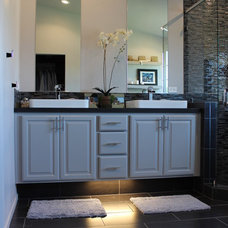 Contemporary Bathroom by HT Home Design at The Showroom