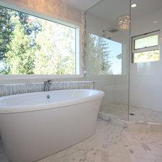 Contemporary Bathroom by Sarah Gallop Design Inc.