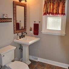 Traditional Bathroom by Dimension Design, Build, Remodel Inc