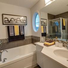 Contemporary Bathroom by Brookfield Residential Alberta