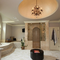 Traditional Bathroom by Vincent Longo Custom Builders