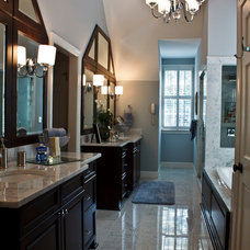 Traditional Bathroom by Great Spaces!