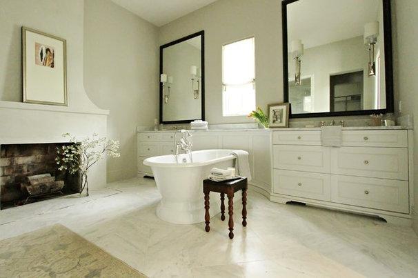 Traditional Bathroom by Yvonne McFadden LLC
