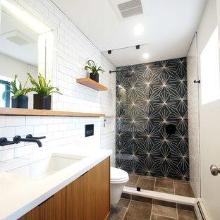 Salle de bain moderne de luxe : Photos et idées déco de salles de bain