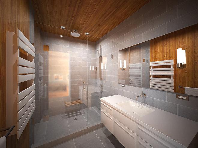 Modern Bathroom by Murdock Solon Architects