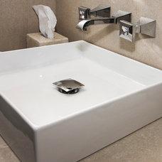 Contemporary Bathroom by Home & Stone