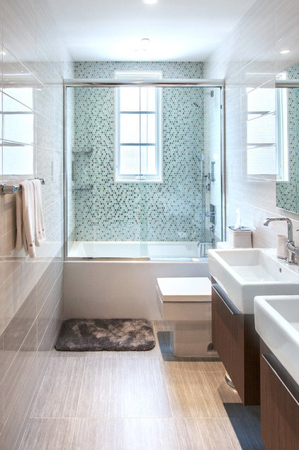 contemporary bathroom by Home & Stone