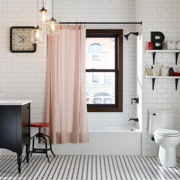 Brooklyn-Style Bathroom