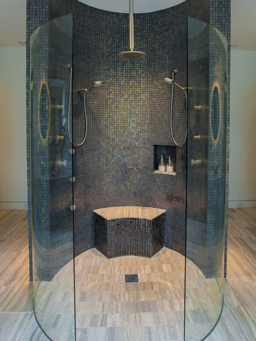Double Walk In Shower Home Design Ideas Renovations Amp Photos