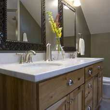 Contemporary Bathroom by Brookstone Builders