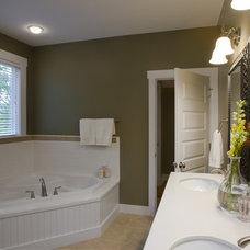 Bathroom by Brookstone Builders