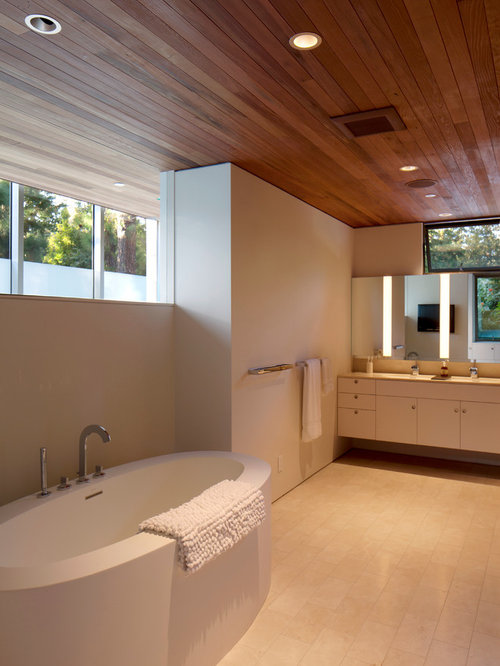 Wood ceiling home design ideas pictures remodel and decor for Bathroom ceiling ideas