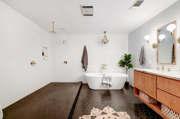 Landhausstil Badezimmer by Melisa Clement Designs