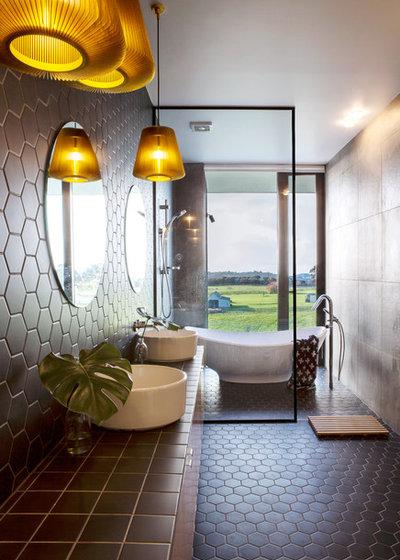 Trendy Badeværelse by Dorrington Atcheson Architects